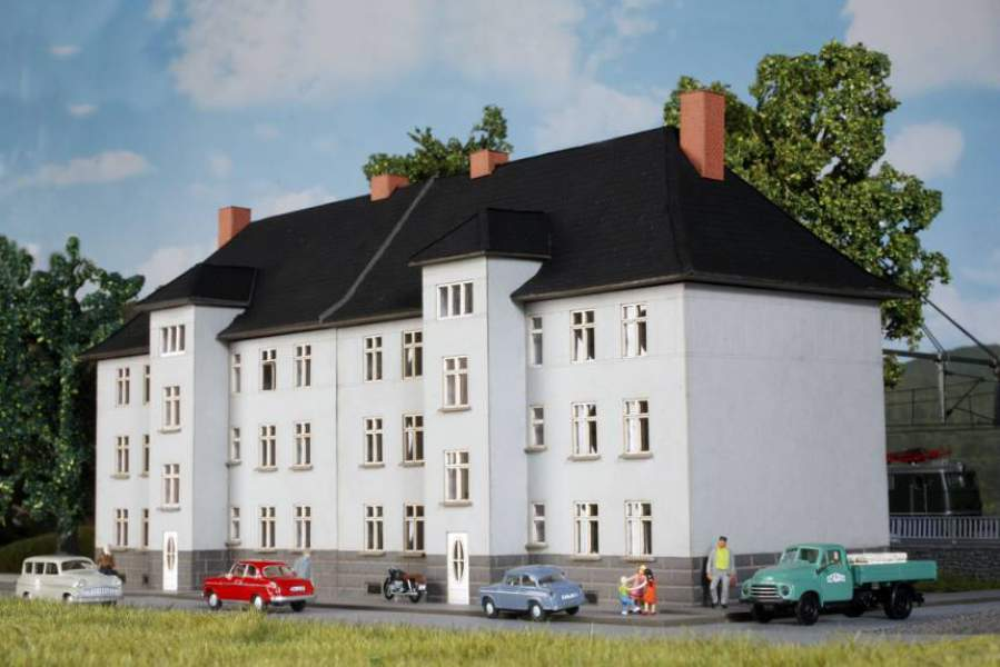 "HO- 0168 Railwayman house ""Mannheim"" according to original plan around 1910"