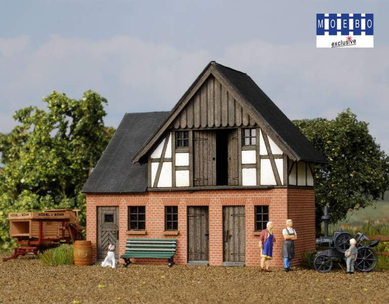 "HO- 500162 ""Kotten"" / stable to prussia. Railwayman's house ""Baruth"""